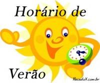 HORARIO DE VERÃO 2015